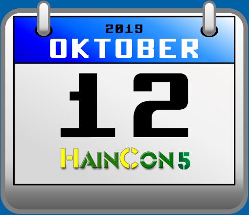Bild: Eventkalenderblatt HainCon 5